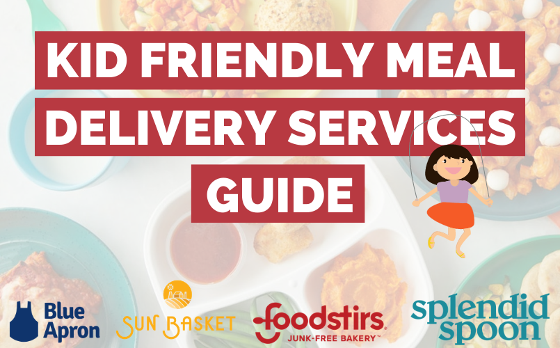 Kid friendly Meal Delivery Service