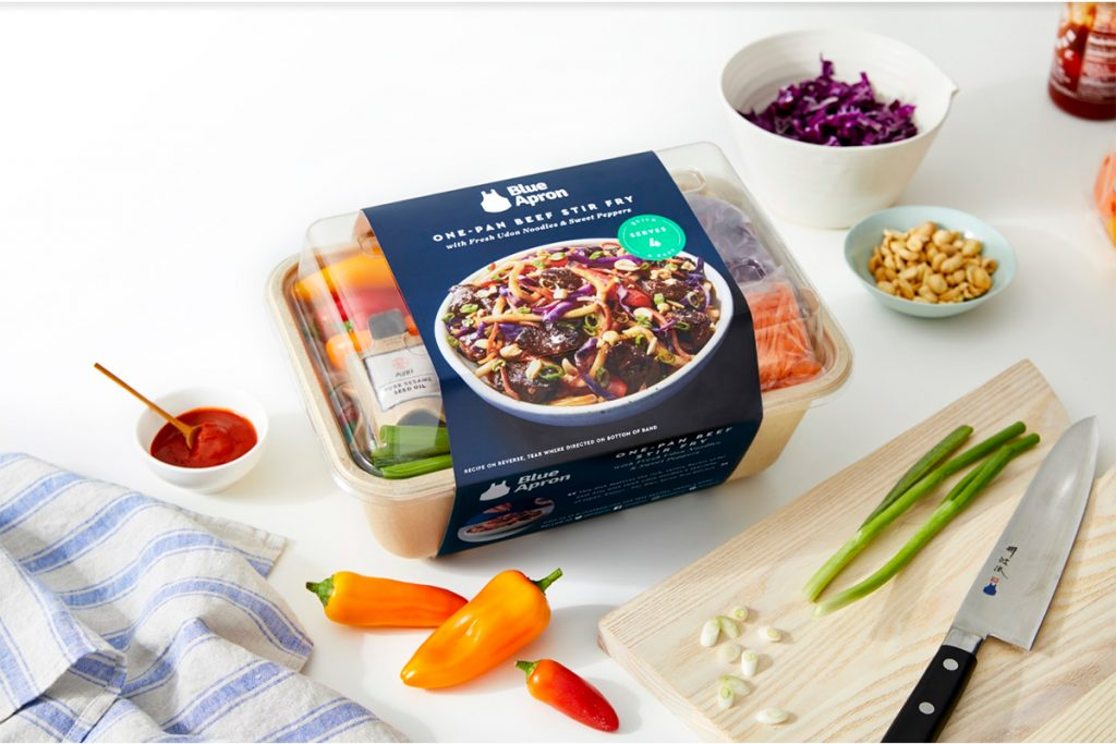 Meal Kit of Blue Apron