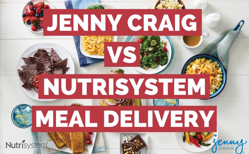 Nutrisystem Delivery vs Jenny Craig
