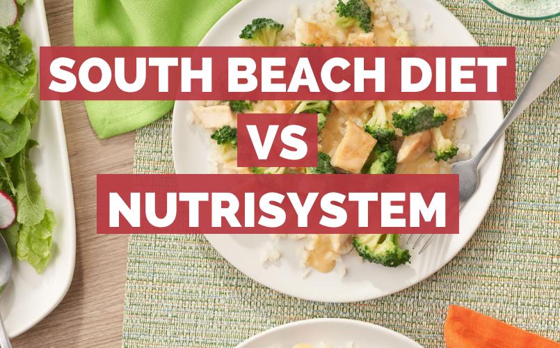 South Beach Diet vs Nutrisystem